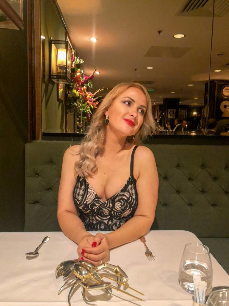 Dinner at Le Gavroche ・Mayfair, London