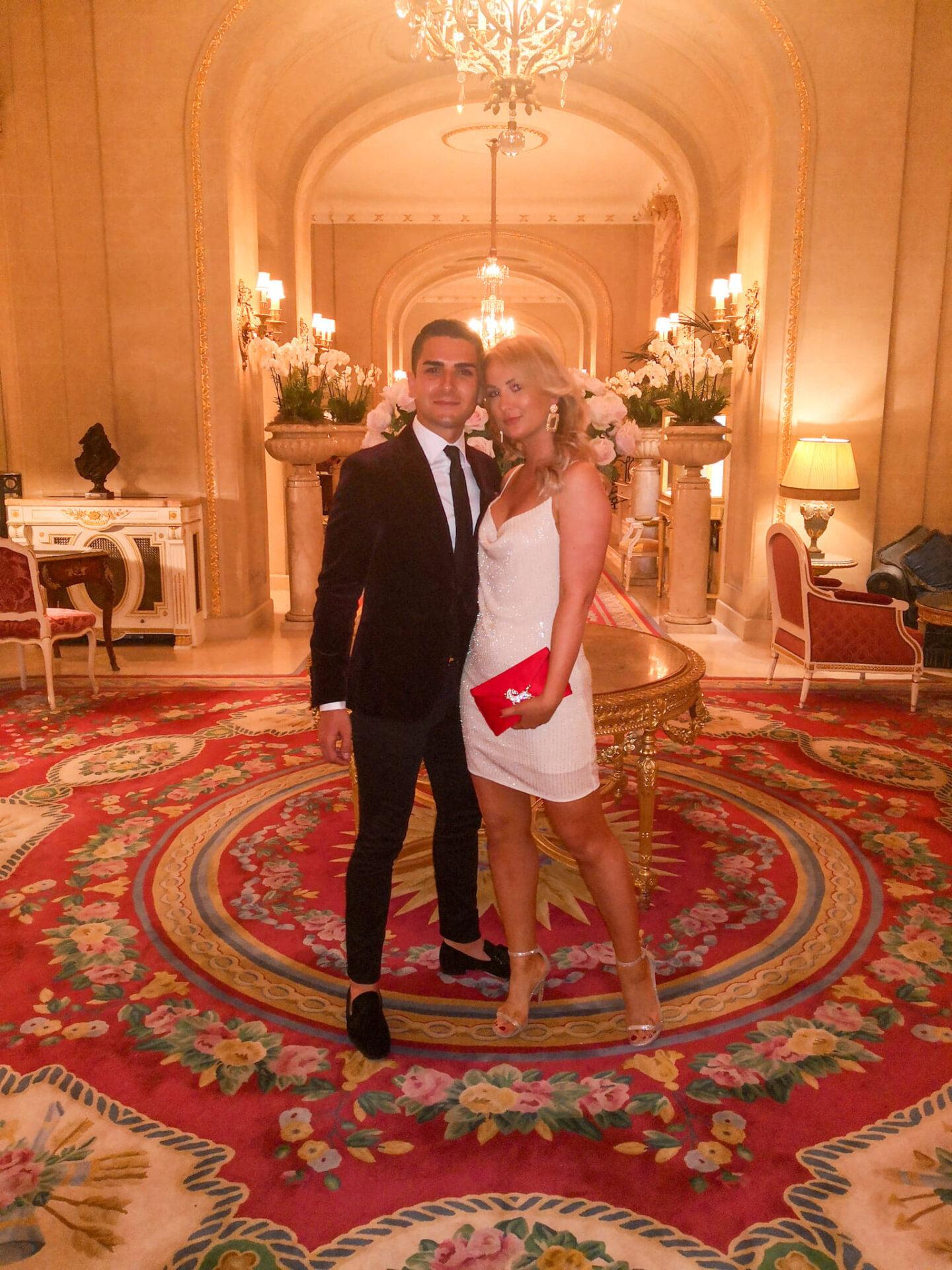 First Wedding Anniversary Dinner at The Ritz Restaurant in London