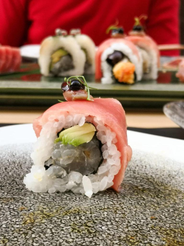 mediteran sushi roll